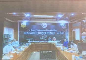 2nd Myanmar Universities Research Conference (MURC) 2020