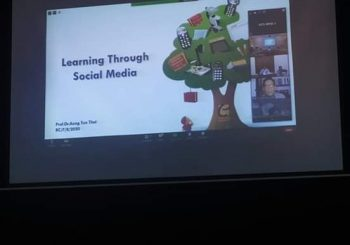 """Learning Through Social Media"" by Dr.Aung Tun Thet"